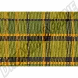 231000021 Tissu de siège Westfalia code 34 vert/jaune