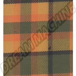 231000022 Tissu de siège Westfalia code 09 vert/rouge