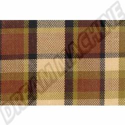231000023 Tissu de siège Westfalia code 46 marron/beige