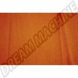 Tissu de rideau orange 1.40m de large ( le metre )