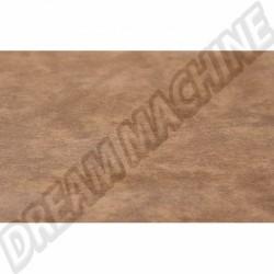 Vinyl de siège Westfalia, Marron, largeur 130cm, vendu par longueur de 100cm