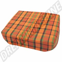 Dessus de Tabouret Westfalia Rouge/Orange