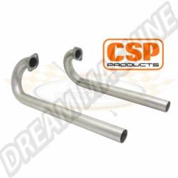 J tubes inox 38mm CSP pour moteur Type 3