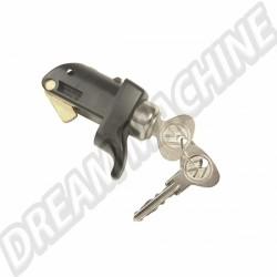 Poignée de porte moteur avec clés Pick up 5/1979-7/1992
