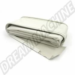 111-505V-BK Ciel de toit complet vinyl perforé blanc 64-->>67 berline