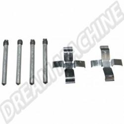 311698151BKIT kit montage plaquettes de freins réf 77110 8/71-7/72 et etrier 113698461B