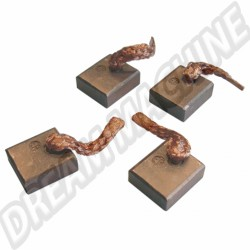 Charbons de démarreur 12 Volts  10x7x18mm  (les quatre) 311 911 215A 311911215A  sur Dream-machine.fr