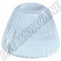 311953161CL Cabochon de clignotant obus transparent avant gauche ou droit Ghia 64-69 Type 3 61-69