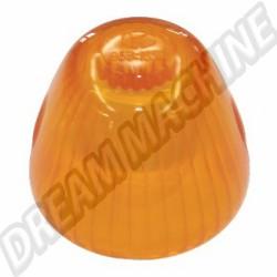 311953161 Cabochon de clignotant obus orange avant gauche ou droit Ghia 64-69 Type 3 61-69