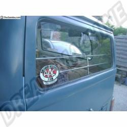 Baguettes en alu de protection de vitre arrière T2