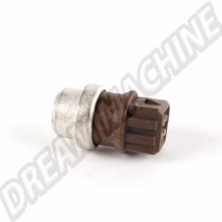 Interrupteur de température, ventilateur de radiateur marron 112 - 119 °C à 4 pôles
