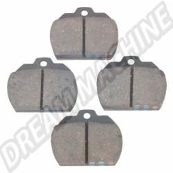 111698151B Plaquettes de frein 8/72-->> (le kit)