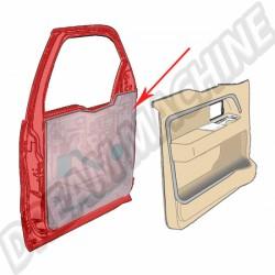 Film de protection pour les portes, derrière les panneaux de porte tous modele 1000mm x 2000mm