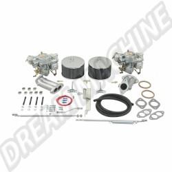 43-4420-0  Kit 2 carburateurs Empi/Kadron double admission 44mm Solex  830€
