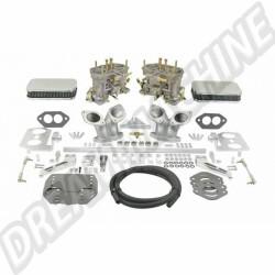 43-7341-0  Kit complet de 2 carburateurs double corps 40mm  HPMX Pour T3  740€
