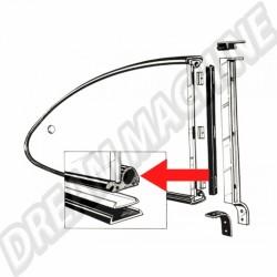 Joints entre vitres et cadres de Popout pour Karmann Ghia 56->59 143 845 321A 143845321A | Dream machine