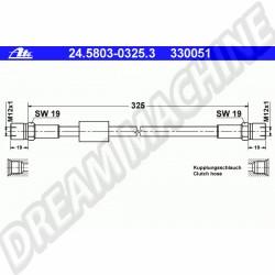 flexible d'embrayage hydraulique pour Transporter T25