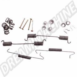 Kit montage mâchoires de frein arrière pour Combi 71-->72 DM06567