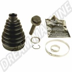 Kit de soufflet de cardan extérieur coté roue pour Transporter T4 07/94-> sans ABS