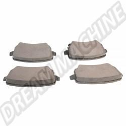 Jeu de plaquettes de frein arrière 15,20mm pour disques 226x10mm    1H0698451A