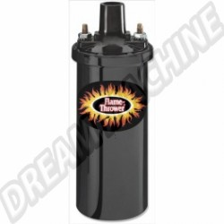 Bobine Pertronix noire Flame-Thrower 12V 40.000 Volts 3 Ohms