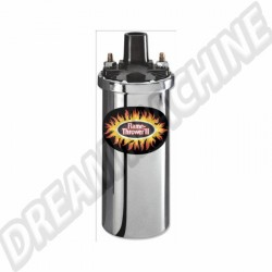Bobine Pertronix chromée Flame-Thrower II 45.000 Volts 6 Ohms