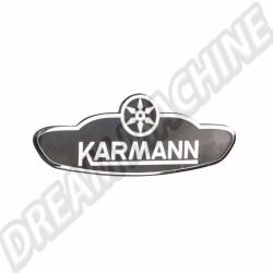 Ecusson Karmann pour cabriolet 61-->>79