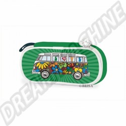 930282 Trousse Combi love bus 23x9x7cm