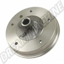 Tambour de frein arrière 5 x 205 mm (la pièce)  de 10/57 a 7/1967  113501615D | dream-machine.fr