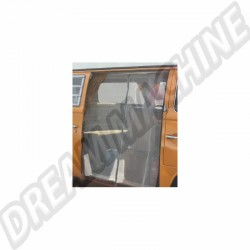 Moustiquaire de porte latérale avec zip pour Combi Westfalia 8/63-79