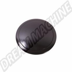 Bouton de klaxon noir pour moyeu SSP 9 vis