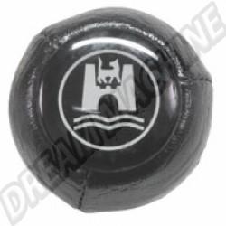 AC711405 Pommeau noir avec logo Wolfsburg 12mm 68-79