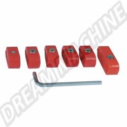 Séparateurs de fils de bougies rouges AC998204