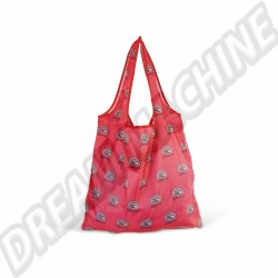 Sac shopping pliable rouge Combi Split AC999B027