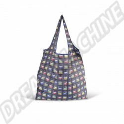 Sac shopping pliable bleu Combi Split