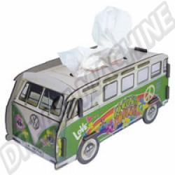 Boite à mouchoirs Combi Hippie