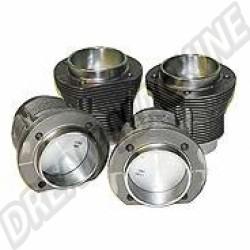 Kit cylindres pistons 1200 60-->>7/70 alésage bloc 87mm
