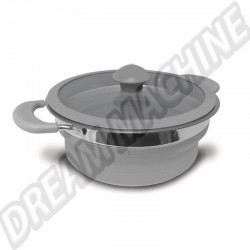 Casserole pliante de 1,5 litre gris  | dream-machine.fr