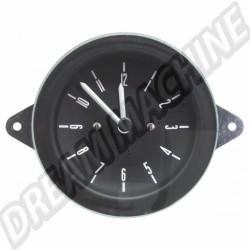 Horloge Deluxe 12v fond noir combi 1976-1979