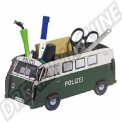 Boite de rangement bureau Combi Police