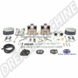 Kit complet de 2 carburateurs T4 double corps 40mm Empi HPMX