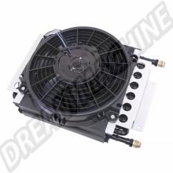 Radiateur d'huile avec ventilateur