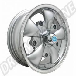 Jante Empi GT-5 grise et polie 5,5x15 5 trous 5x205