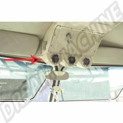 Support de 3 manomètres montage sous la boite a air combli split | Dream amchine