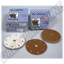 Disques abrasifs 7 trous diam.150mm Grain 150