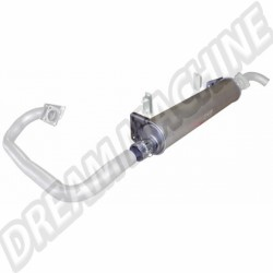 Echappement, Silencieux 1600cc Diesel 8/1981-7/1987 ERNST qualité allemande