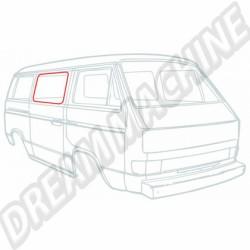 Joint de vitre de porte coulissante Transporter 85-92