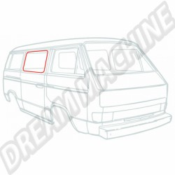 Joint de vitre de porte coulissante Transporter 80-84