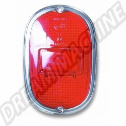 211945241GH Cabochon de feu arrière Hella modèle US rouge Combi 62-->71