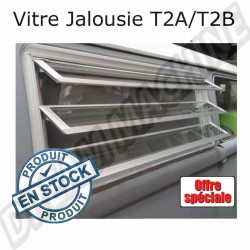 Vitre jalousie complète neuve Combi Westfalia 8/67-->7/79 côté droit  231845712 231 845 712 sur Dream-machine.fr
